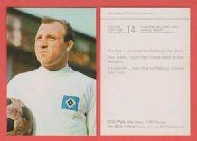 Hamburg Uwe Seeler West Germany
